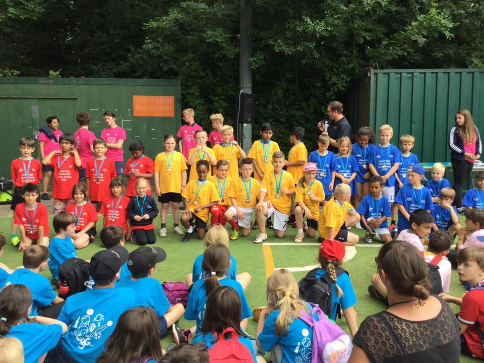 Year 3 & 4 Youth Games | Cambridge SSP